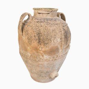 Rustikale antike italienische Vase aus Terrakotta