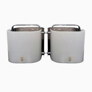 Italienische Polsino Tischlampen von Gio Ponti für Guzzini, 1969, 2er Set
