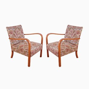 Vintage B974 Armchairs from Thonet, 1930s, Set of 2