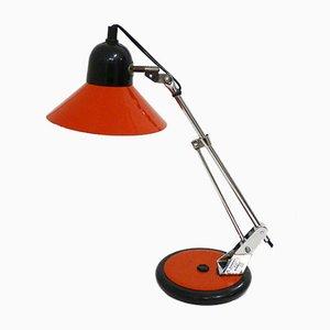 Lampe de Bureau Vintage avec Tige Coulissante en Chrome d'Aluminor