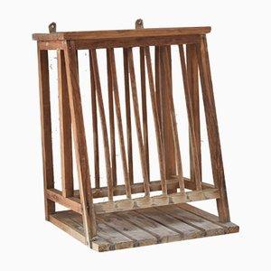 Antique Rustic Pine Rack