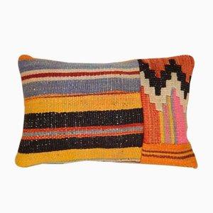 Dekorativer Patchwork Kissenbezug von Vintage Pillow Store Contemporary