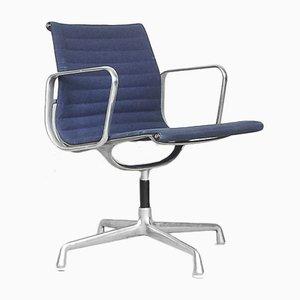 Sedia da scrivania EA108 in alluminio di Charles & Ray Eames per Herman Miller, anni '60