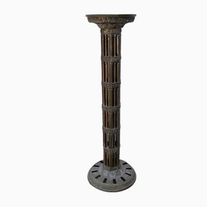 Mid-Century Italian Brass Column, 1960s
