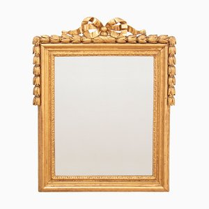 Antique Louis French XVI Giltwood Mirror, 1780s
