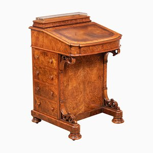 Antique Walnut Davenport, 1860s