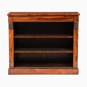 Antique Regency Rosewood Bookcase, 1830s