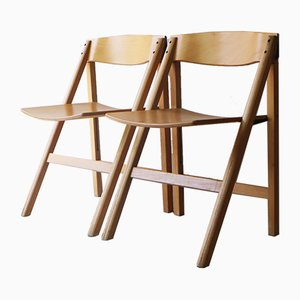 Danish Folding Chairs from Holstebro Møbelfabrik, 1970s, Set of 6