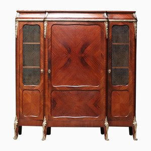 Antique Louis XVI Style French Mahogany Cabinet