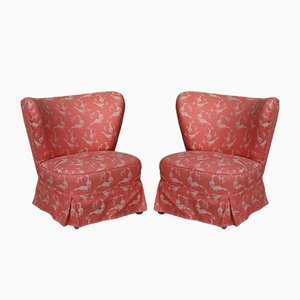 German Lounge Chairs, 1950s, Set of 2