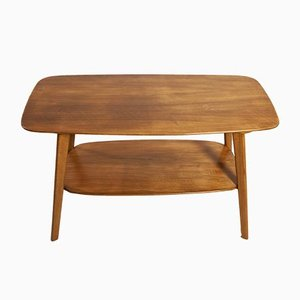 Mid-Century Walnut Coffee Table, 1960s