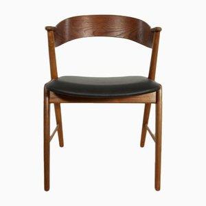 Vintage Modell 32 Esszimmerstuhl aus Teak von Kai Kristiansen für Korup Stolefabrik