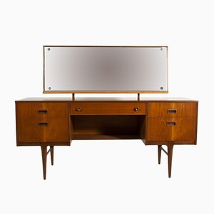 Mid-Century British Teak Dressing Table, 1960s