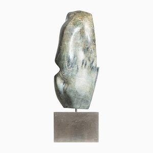 Escultura de metal y mármol de Jörgen Sinding, años 60