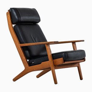 Danish GE-290 Easy Chair by Hans Wegner, 1960s