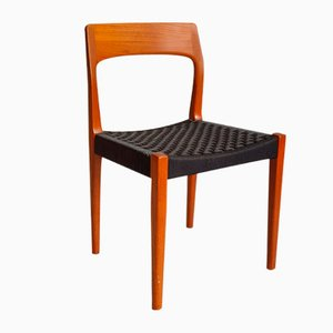 Chaise de Salle à Manger en Teck par Tom Pitt pour Nathan Furniture, 1960s