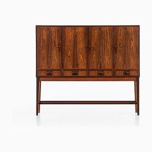 Mueble de palisandro de Helge Vestergaard Jensen para Peder Pedersen, años 50