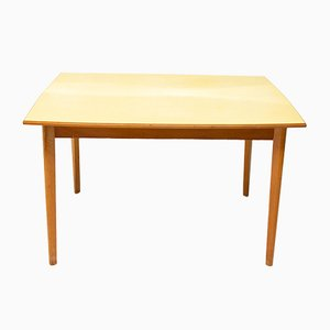 Mid-Century Czechoslovakian Wood & Formica Dining Table, 1960s