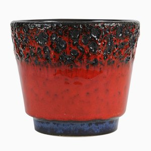 Fat Lava Flower Pot from Jopeko, 1970s
