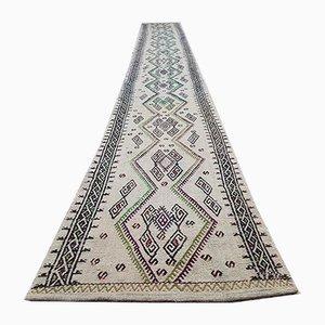 Vintage Turkish Handmade Flat Weave Kilim Rug, 1970s