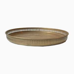 Scandinavian Modern Brass Tableware, 1970s