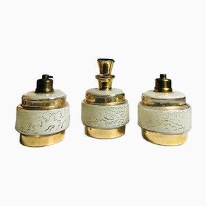 Flacons de Parfum Art Déco, 1930s, Set de 3