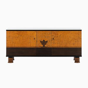 Birch Sideboard by Otto Schulz for Boet, 1930s