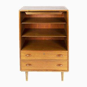 Mueble para cubertería danés de teca de Harald Nielsen, años 60
