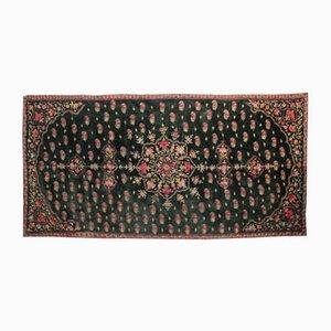 Tapiz indio antiguo bordado en terciopelo
