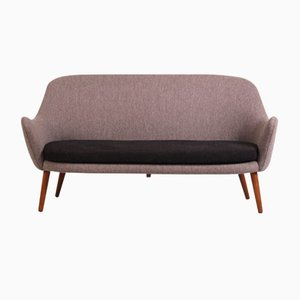 Teak and Wool Sofa by Hans Olsen for De Ster Gelderland, 1950s