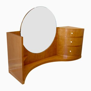 Art Deco Sycamore Dressing Table by Betty Joel for Token Works, 1937