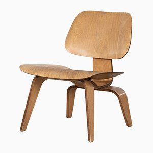 American LCW Maple Lounge Chair by Charles & Ray Eames for Herman Miller, 1950s