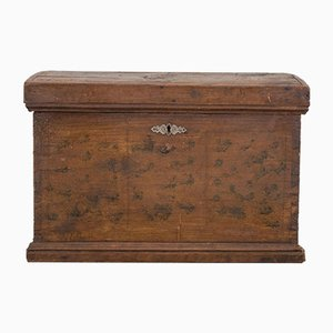 Antique Italian Fir Jewelry Box
