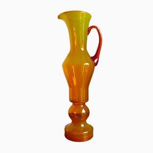 Vase en Verre Soufflé à la Main par Zbigniew Horbowy pour Sudety Glassworks, 1960s