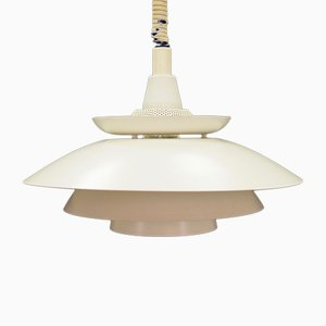 Vintage Danish Metal Ceiling Lamp, 1970s