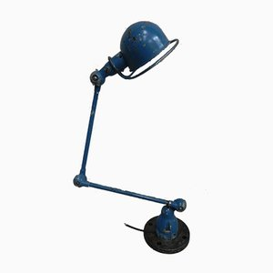 Industrial French Aluminum and Steel 2-Armed Floor Lamp from Jieldé, 1960s