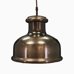 Dänische Deckenlampe aus Metall von Holmegaard, 1970er