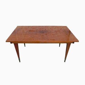Mid-Century French Mahogany Dining Table, 1960s