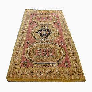 Mid-Century Moroccan Wool Carpet, 1940s