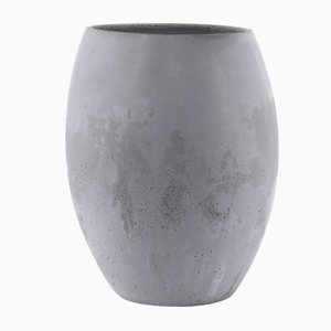 Jarrón Mod. II Zazen de hormigón de Sergio Barbieri para Forma e Cemento