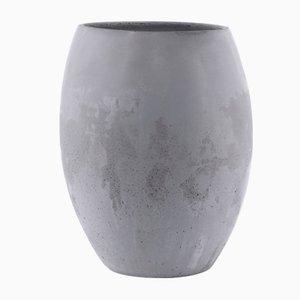 Vase Zazen II en Béton par Sergio Barbieri pour Forma e Cemento