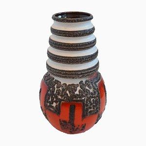 Vase Fat Lava Mid-Century de Scheurich, Allemagne, 1950s