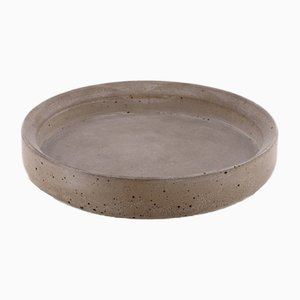Renzo Collection Model 1 Concrete Tray by Valerio Ciampicacigli for Forma e Cemento