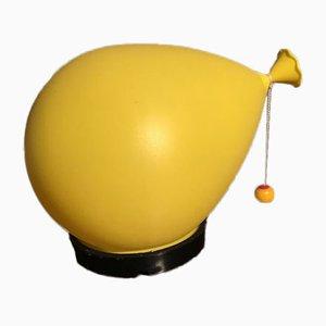 Italienische Balloon Tischlampe von Yves Christin für Bilumen, 1970er