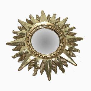 Kleiner französischer Vintage Spiegel, 1970er