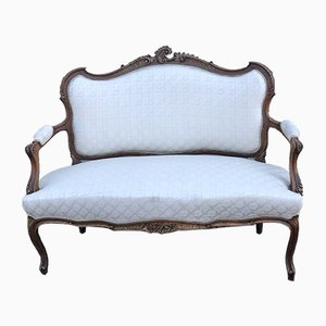 Antique French Walnut Sofa
