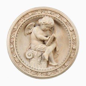 Antike Garten-Reliefplatte