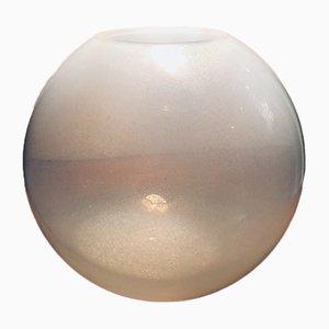 Cuenco italiano de cristal de Murano de Carlo Nason para Mazzega, años 60