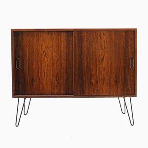 Mueble danés Mid-Century de hierro y palisandro, años 60