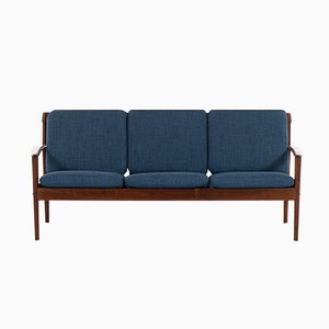 Vintage No. 56 Sofa by Grete Jalk for P. Jeppesens, 1960s